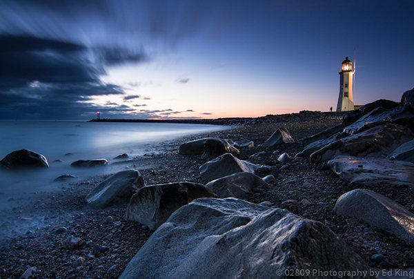 Scituate Light © Ed King