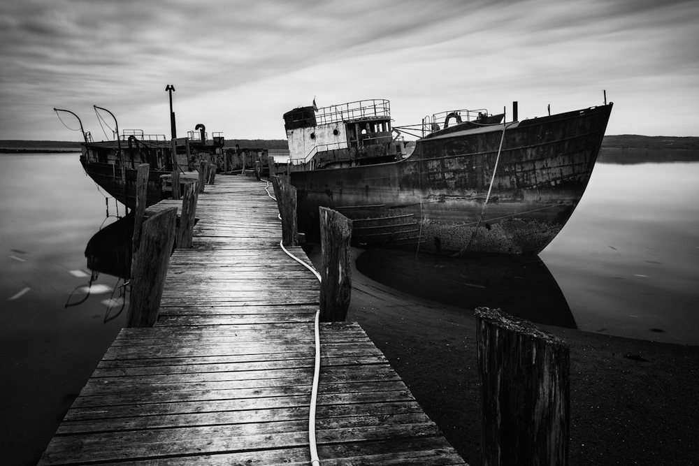Old Scow © Nate Parker