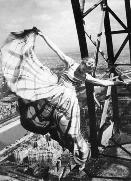 Erwin Blumenfeld - The Eiffel Tower (1939), Paris