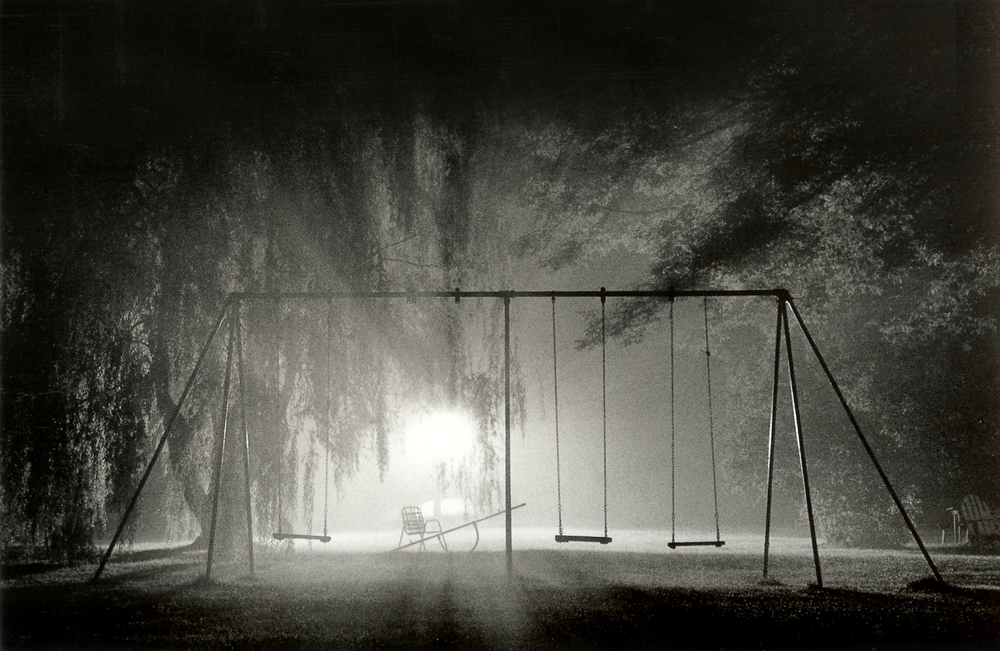 Michael Kenna -   Swings, Catskill Mountains, New York, New York, USA, 1977