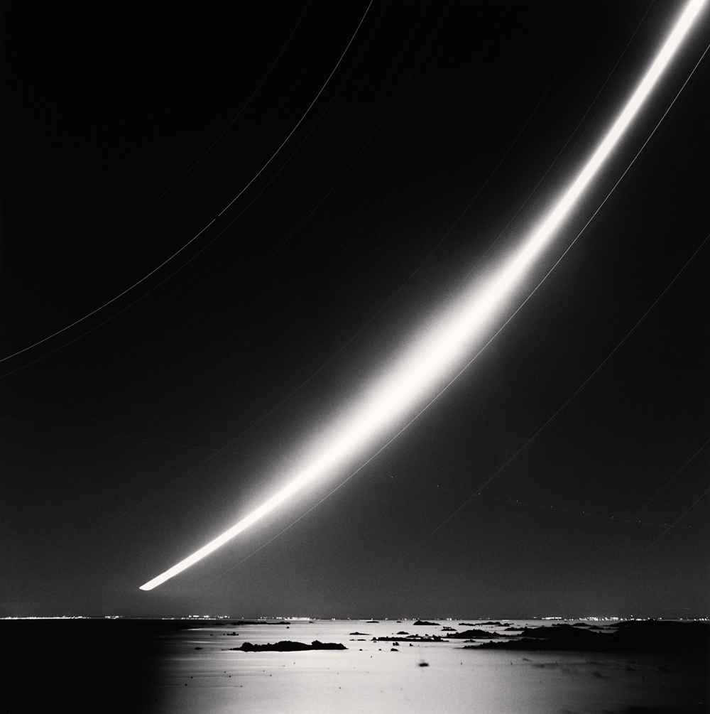 Michael Kenna - Full Moonrise Chausey Islands France 2007