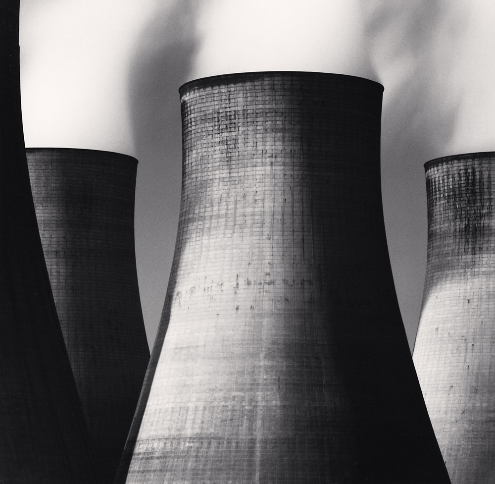 Michael Kenna - Ratcliffe Power Station, Study 46, Nottinghamshire, England, 2003