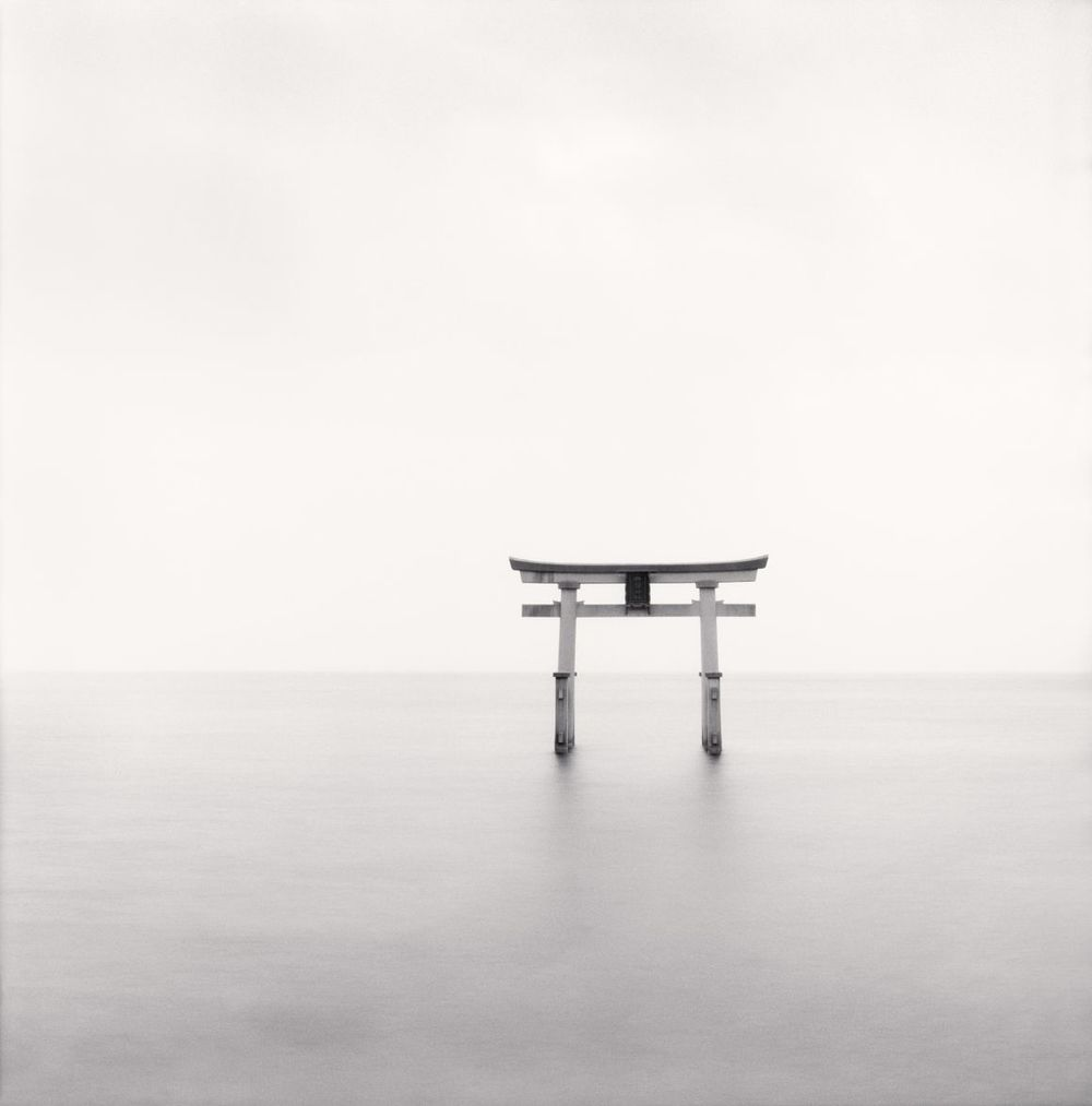 Michael Kenna -Torii, Study 1, Takaishima, Honshu, Japan, 2002