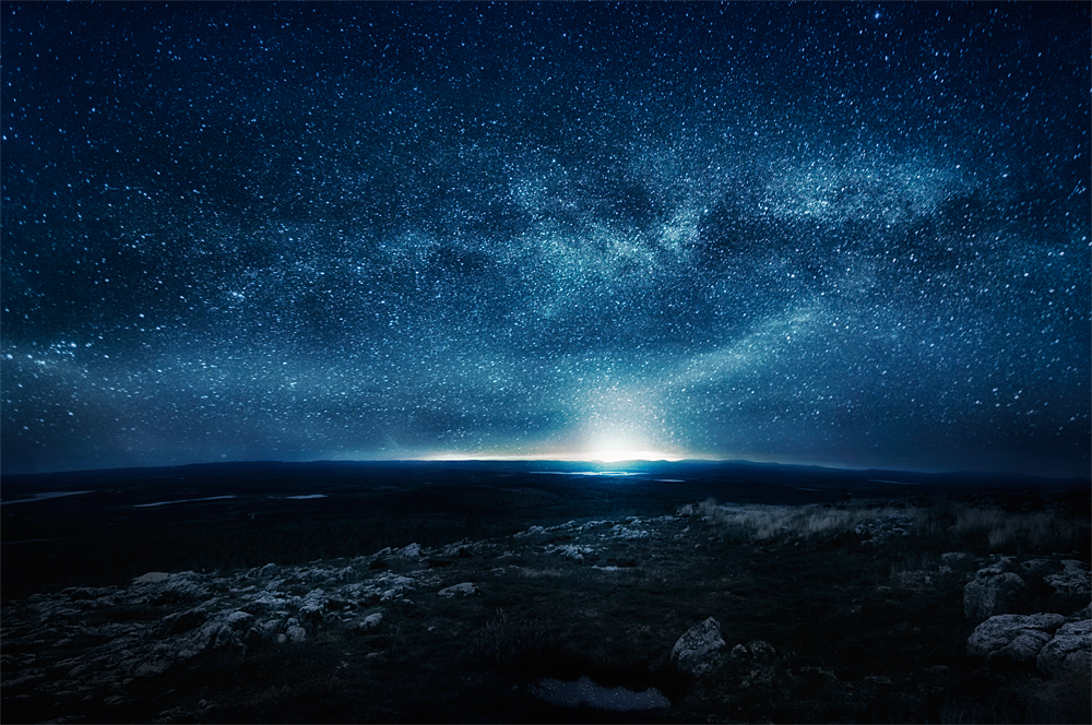 Night by Mikko Lagerstedt