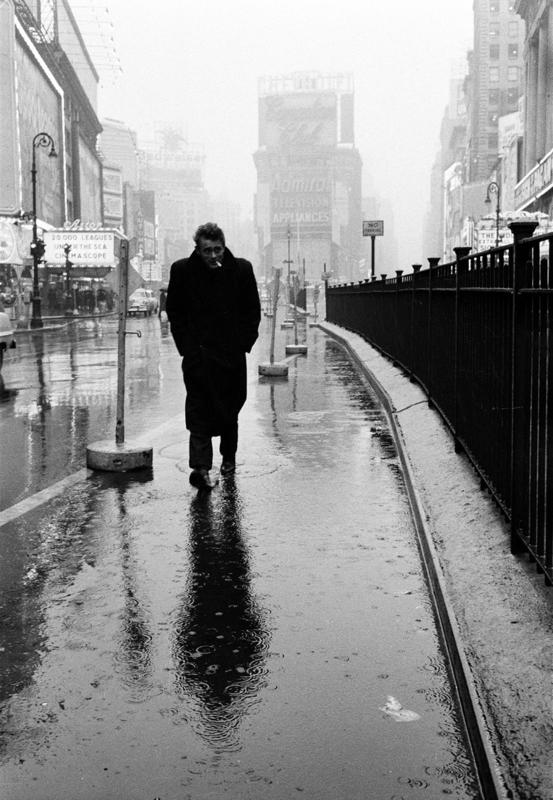 James Dean on Times Square – Dennis Stock, 1955