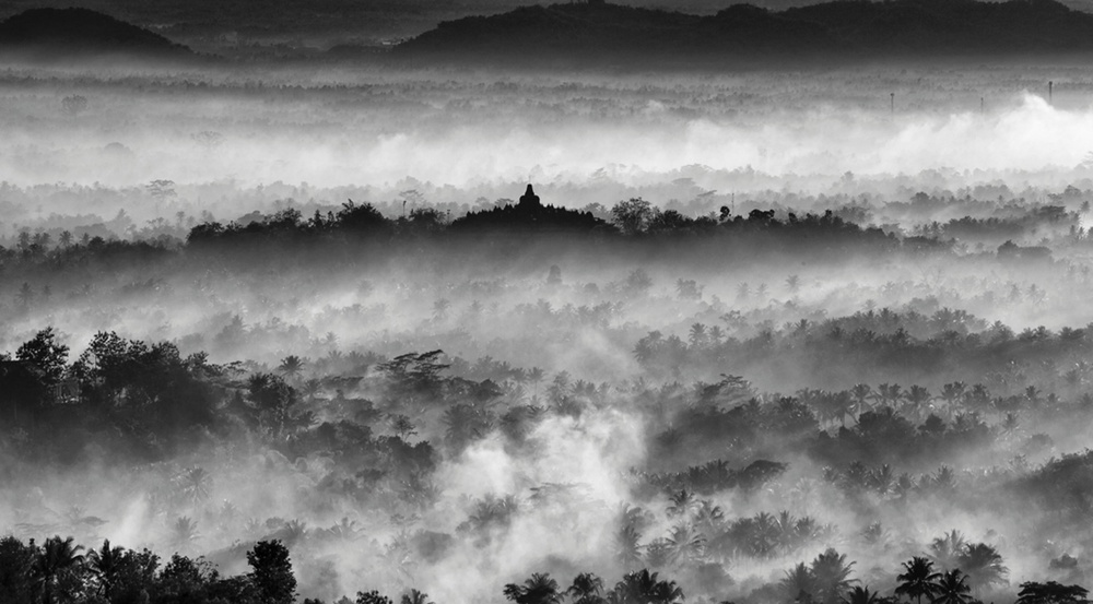 Young TPOTY 14 and under winner, Michael Theodric, Indonesia, age 12 Borobudur Temple, Malang, centre of Java, Indonesia Photograph: Michael Theodric/TPOTY