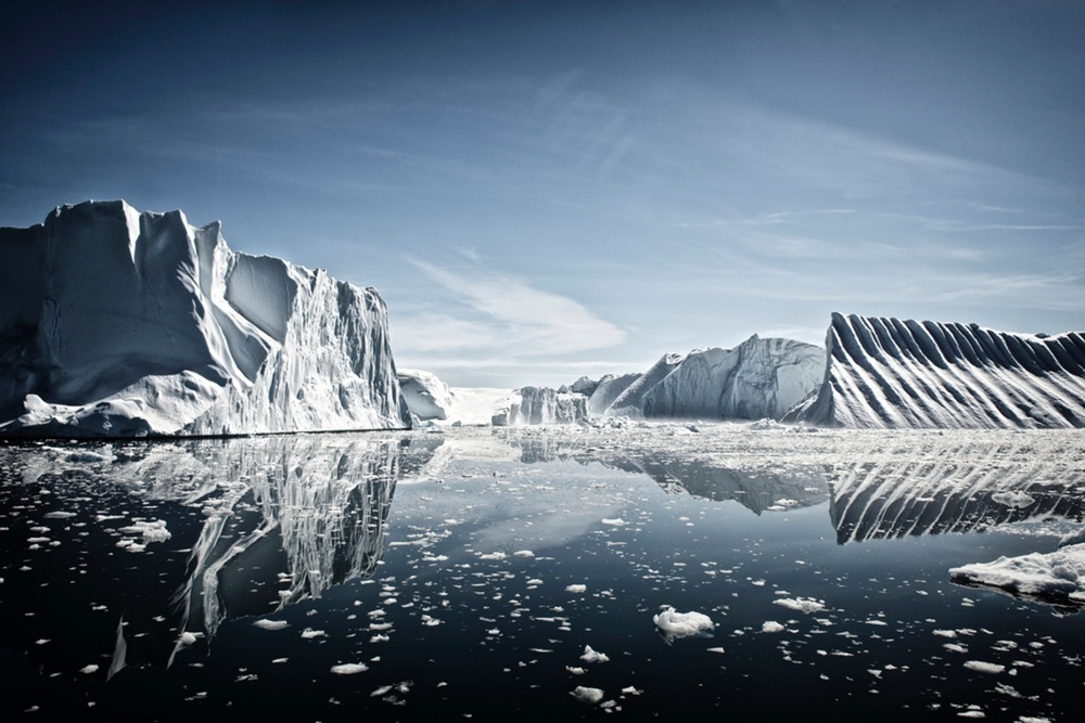 Earth, Air, Fire, Water, commended, Nicolas Lotsos, Greece Disco Bay, Greenland Photograph: Nicolas Lotsos/TPOTY