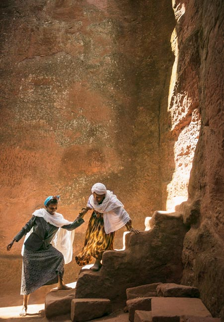 Travel Photographer of the Year overall winner, Philip Lee Harvey, UK  Lalibela, Ethiopia  Photograph: Philip Lee Harvey/TPOTY