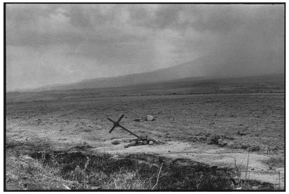 MEXICO. Popocatepetl. Volcano. 1963. © Henri Cartier-Bresson / Magnum Photos