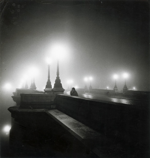 Denise Bellon, Pont Neuf, Paris, at Night, 1930s