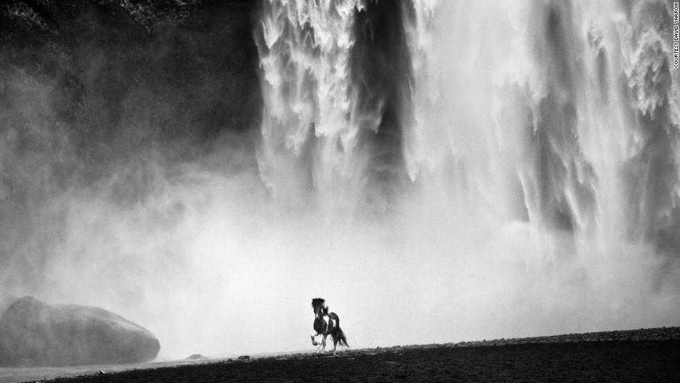 David Yarrow - Wild,Skógafoss, Southern Iceland 2012.