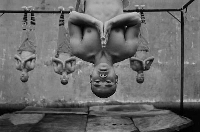 Tomasz Gudzowaty, Shaolin Monks Training, from the Shaolin Temple series, 2003