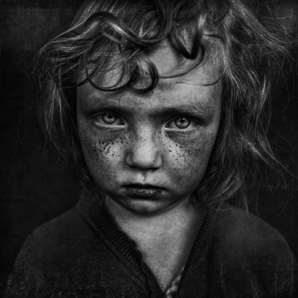 Lee Jeffries, B, from the Portraits of the Homeless series, 2012