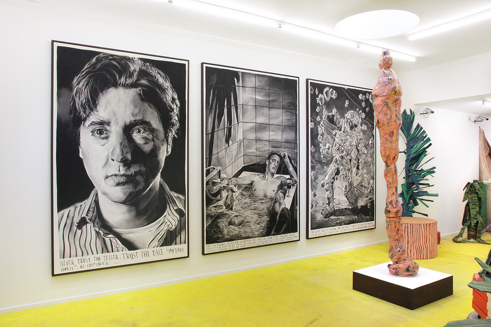 Rinus Van de Velde at Tim Van Laere Gallery, Antwerp, 2017  Courtesy: Tim Van Laere Gallery, Antwerp