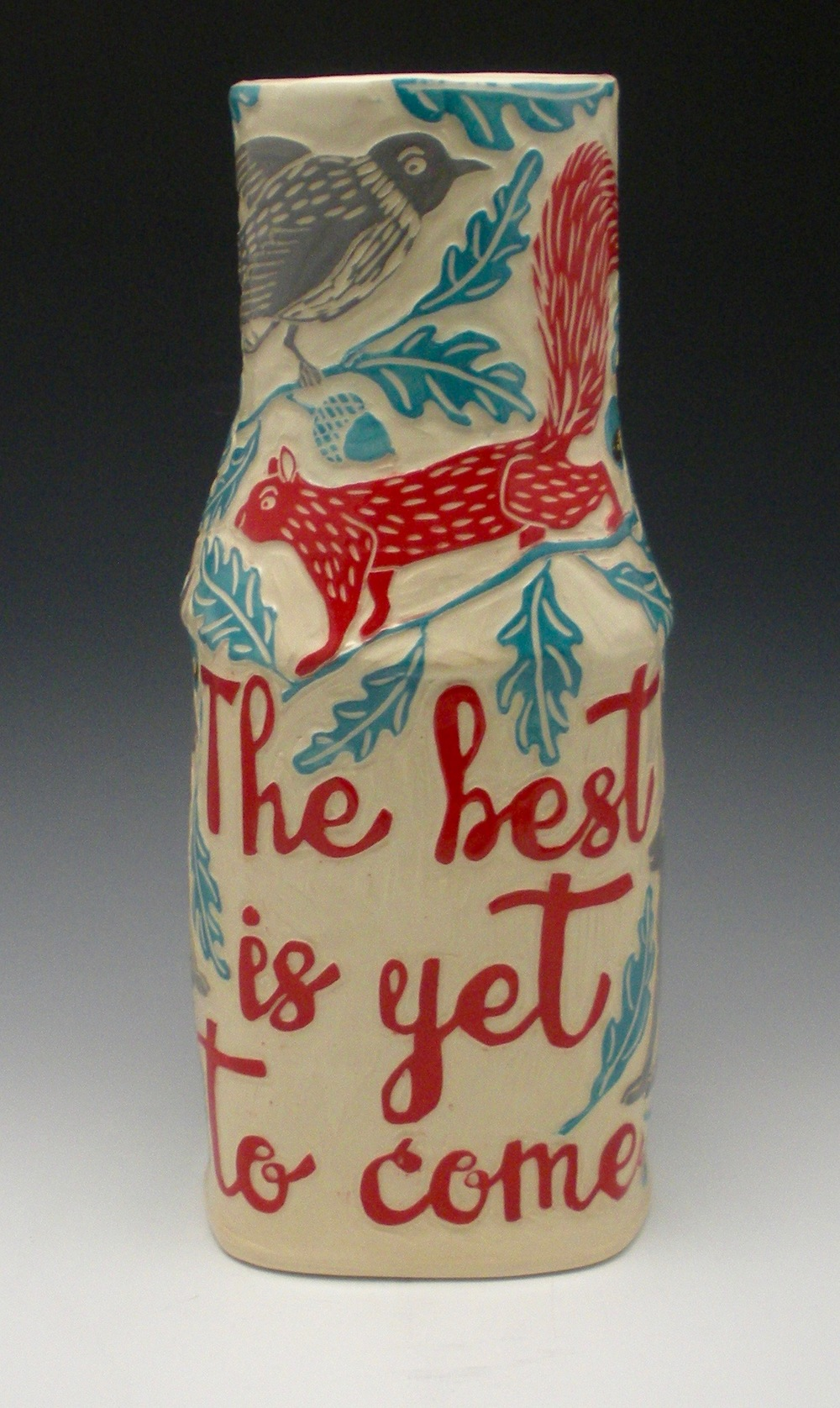 THE BEST IS YET TO COME VASE VIEW 1