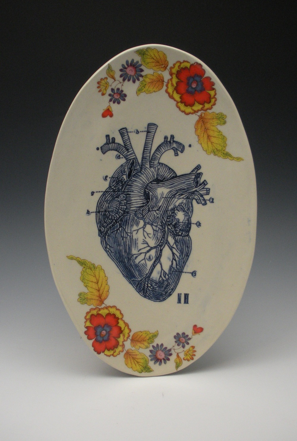 ANATOMICAL HEART PLATE