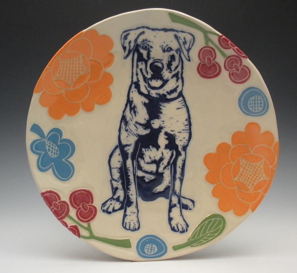 LOYAL DOG PLATE