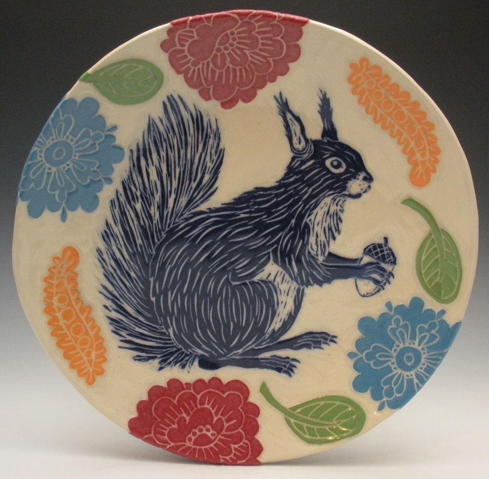 SQUIRREL PLATE