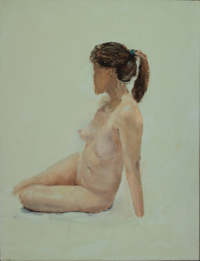 Oil on canvas. 6F (41.0×31.5 cm) 2013