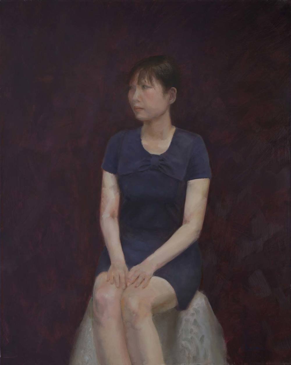 Oil on canvas. 30F (91.0×72.5 cm) 2014