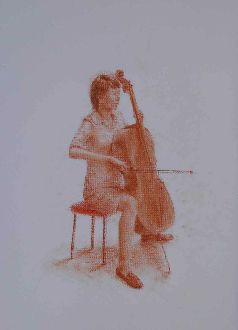 Colored Charcoal. A2 (59.4×42.0 cm) 2014
