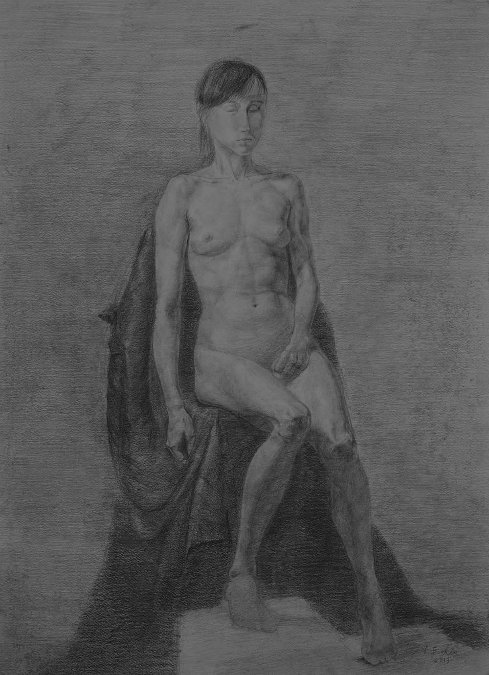 Graphite. A2 (59.4×42.0 cm) 2013