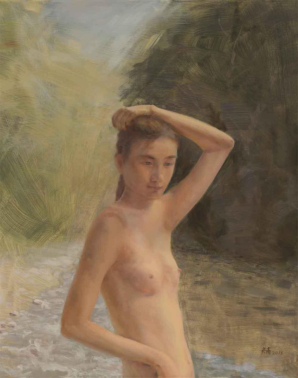 The Bathing Belle<br>沐浴的少女 - 林彥甫