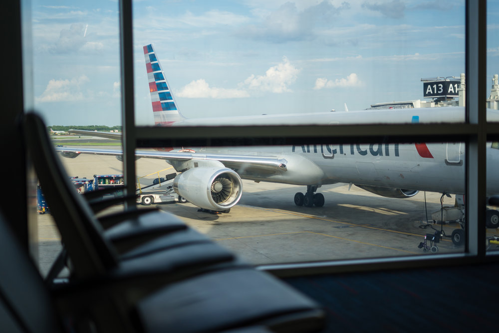 American Airlines International Photographer