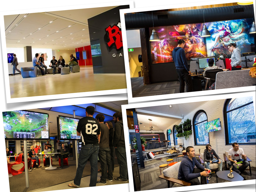 Riot Games social spaces