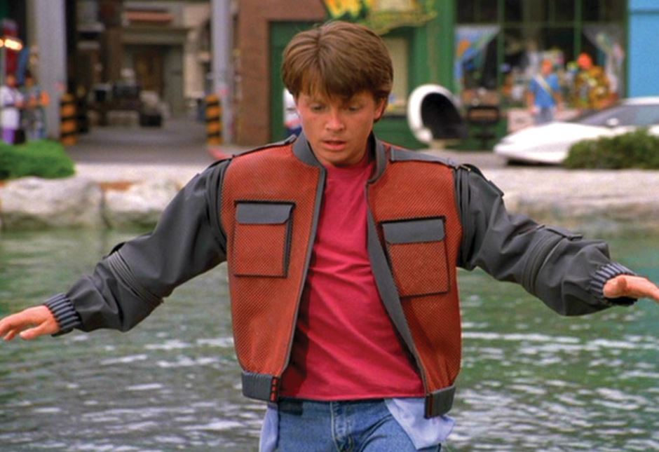 Marty Mc Fly's Self-Drying Jacket from Back to The Future 2.