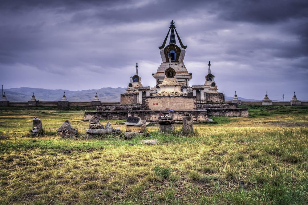 "The ""Golden Stupa"""