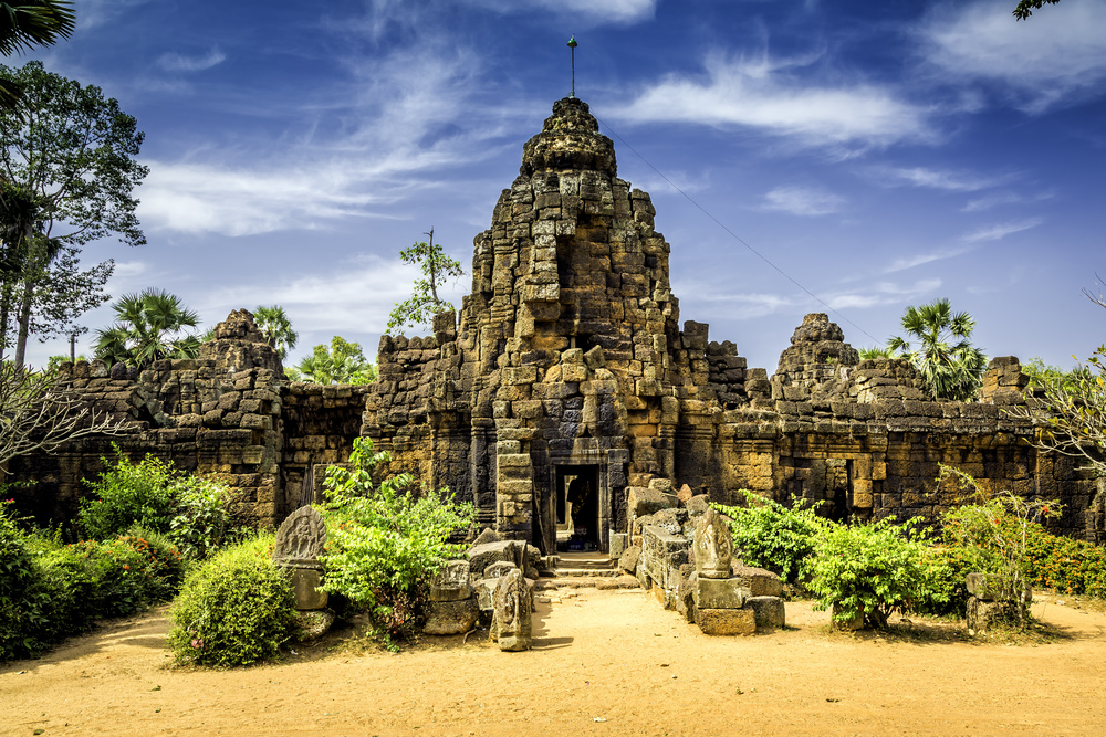 The Tonle Bati Temple