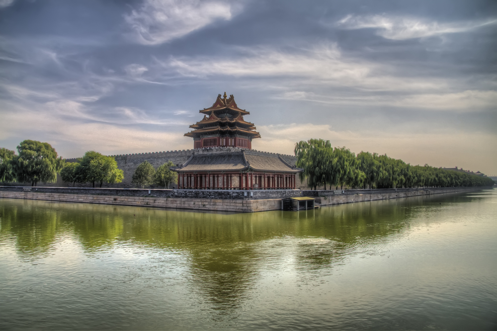 The Corner Tower of the Forbidden City