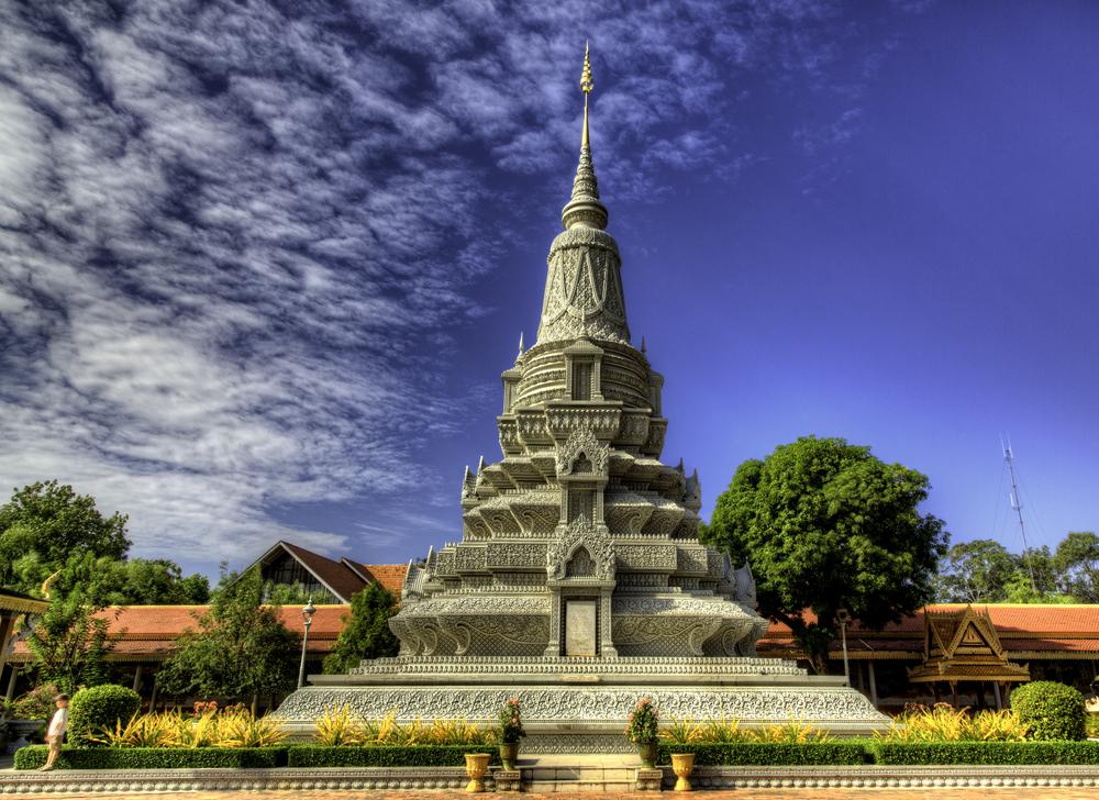 Stupa of King Norodom Suramarit