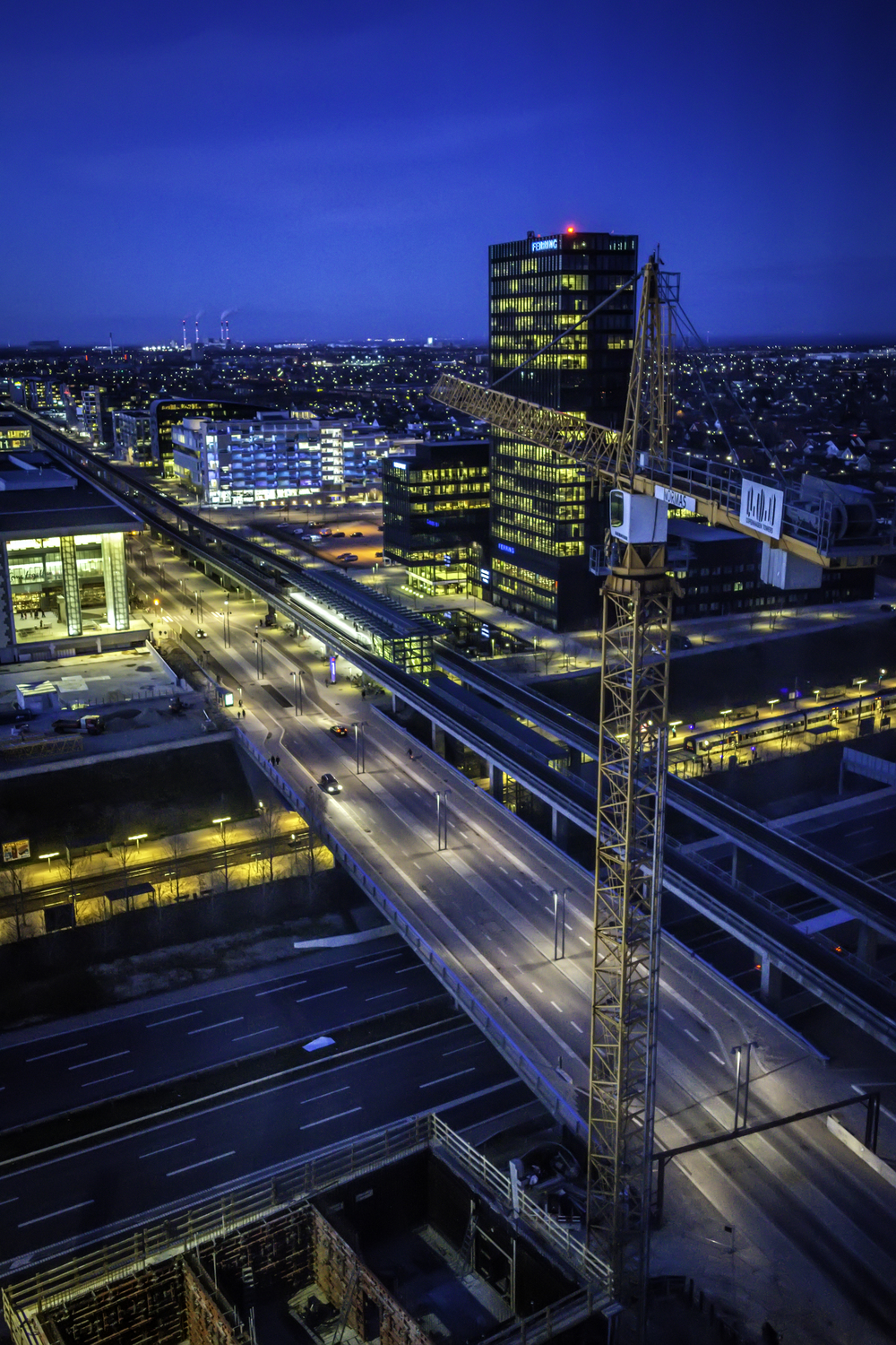 The Night of Ørestad