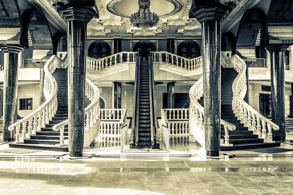 A Sultan's Entrance