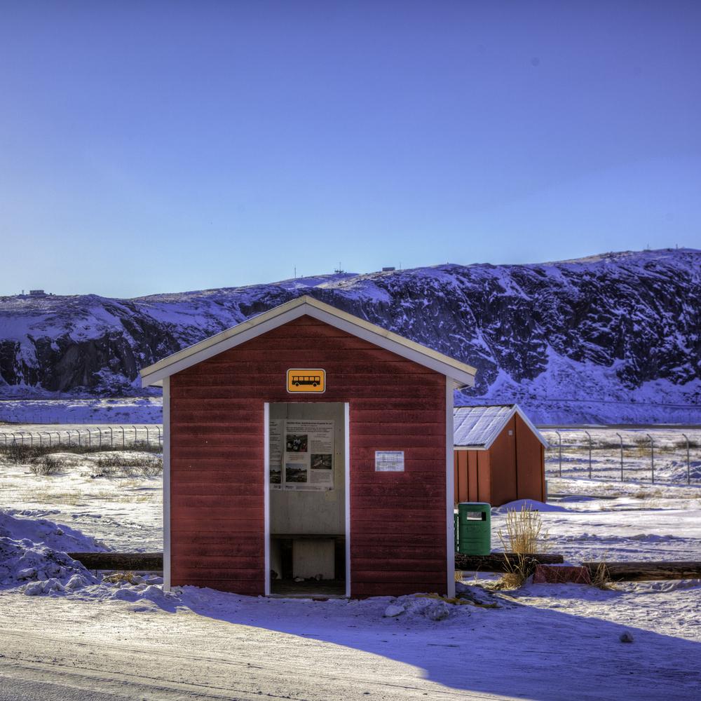 Greenlandic Bus Stop