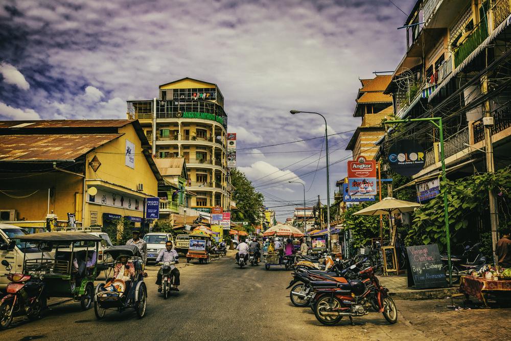 Bustling Phnom Penh