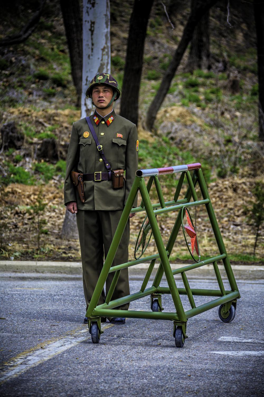 North Korean DMZ Soldier