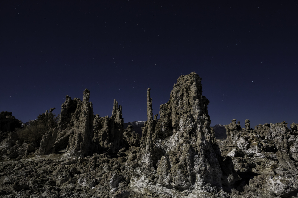 Under The Stars At Mono Lake