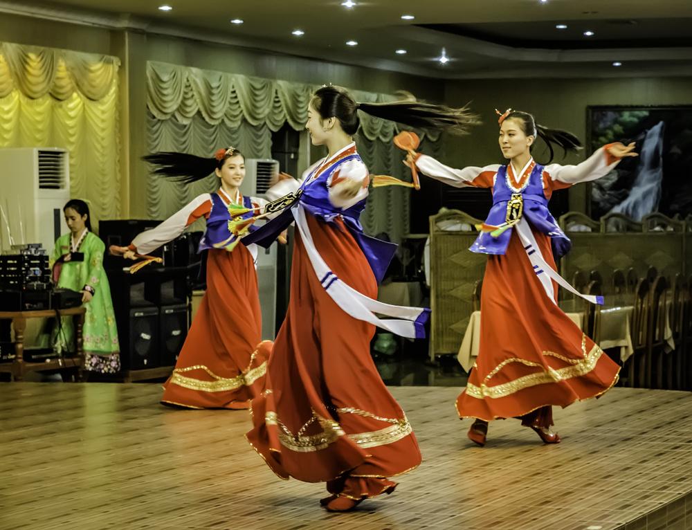 North Korean Dance