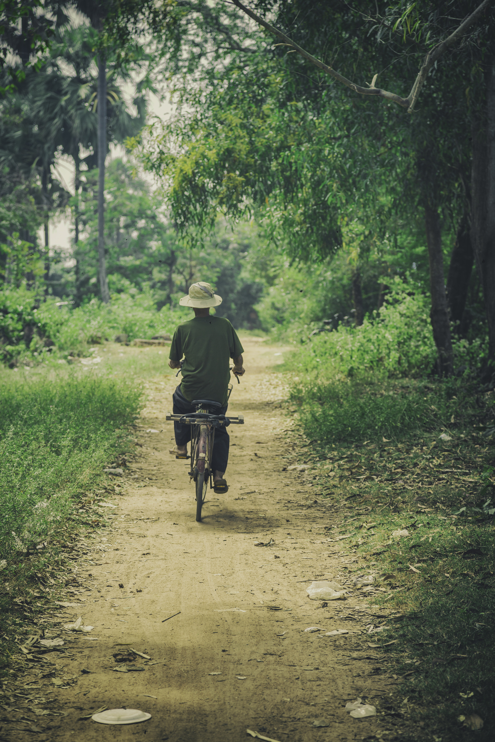 Cycling In Tonle Bati