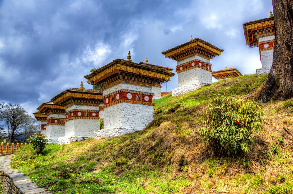 Stupa After Stupa