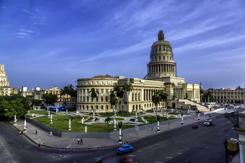 El Capitolio, the National Capitol Building in Havana.