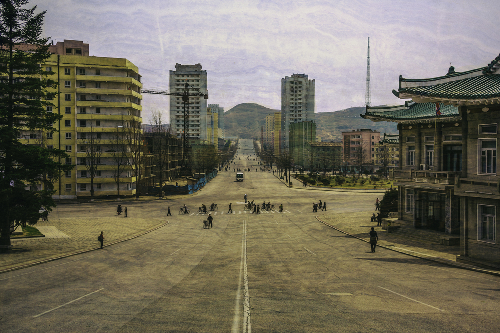 Street Life In Kaesong