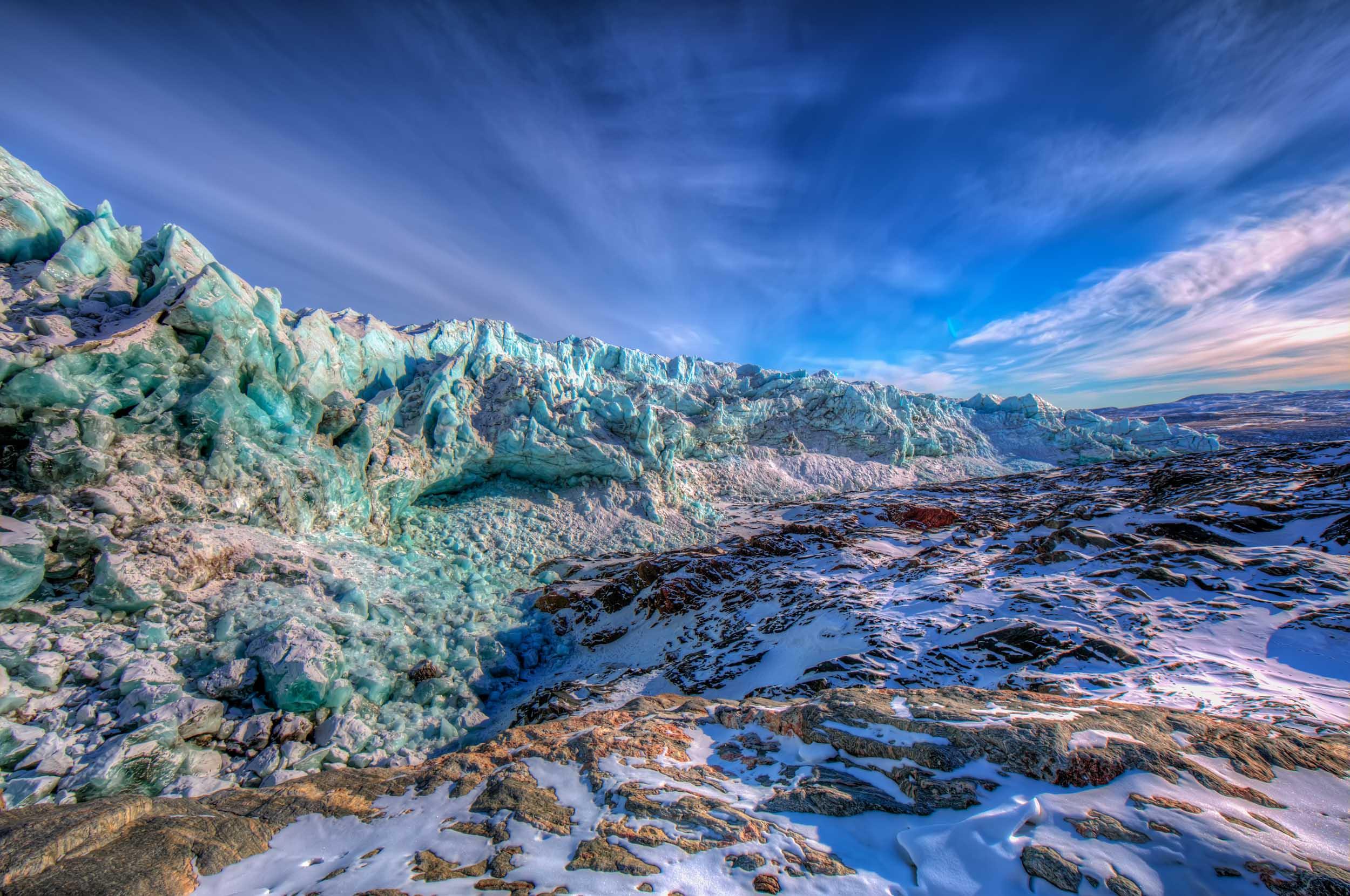 Russell Glacier — Aisle Seat Please