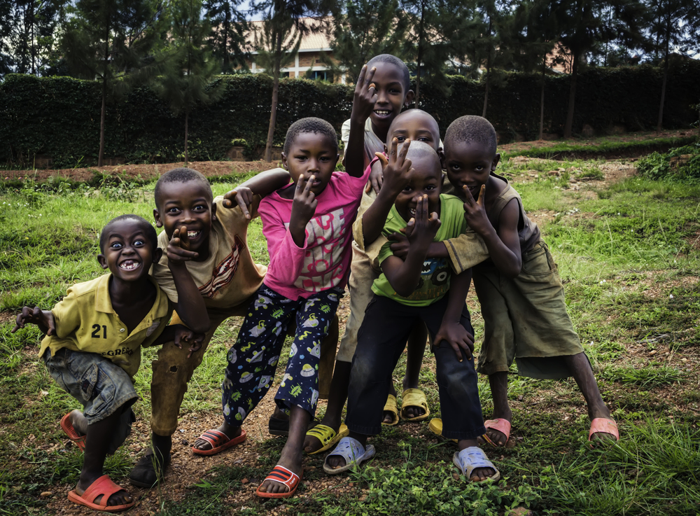 The Playful Children Of Rwanda
