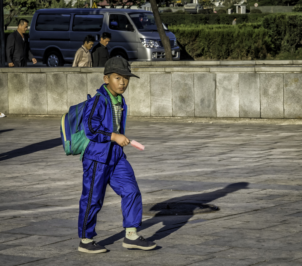 Pyongyang Street Style For Boys