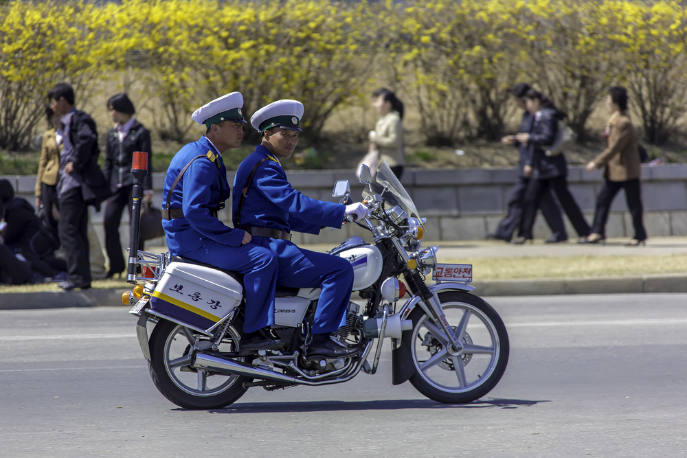 Traffic Safety Motorcycle Duo