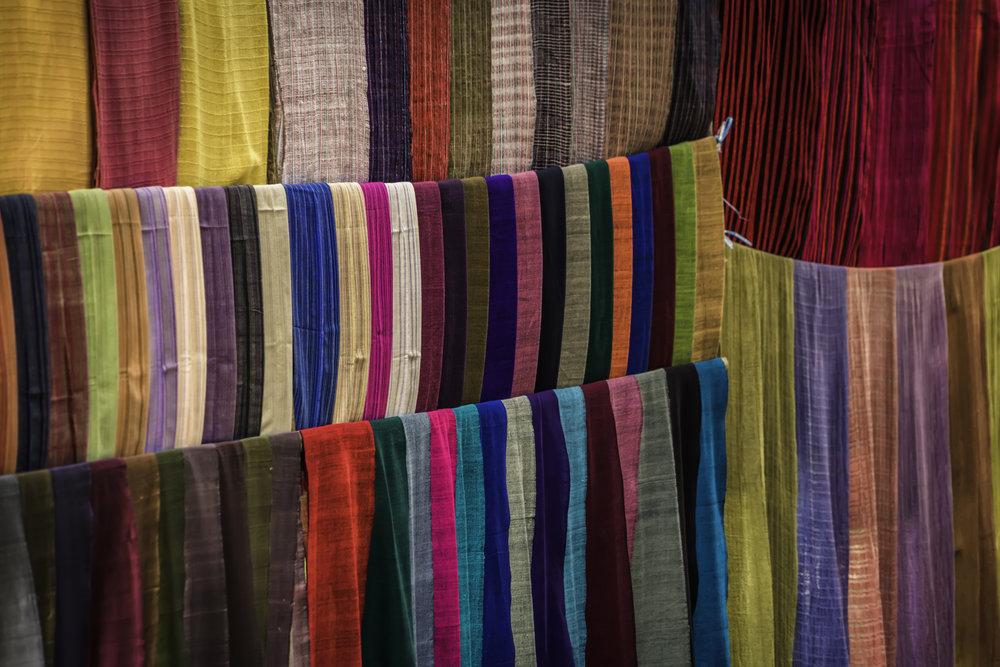 Burmese Fabric
